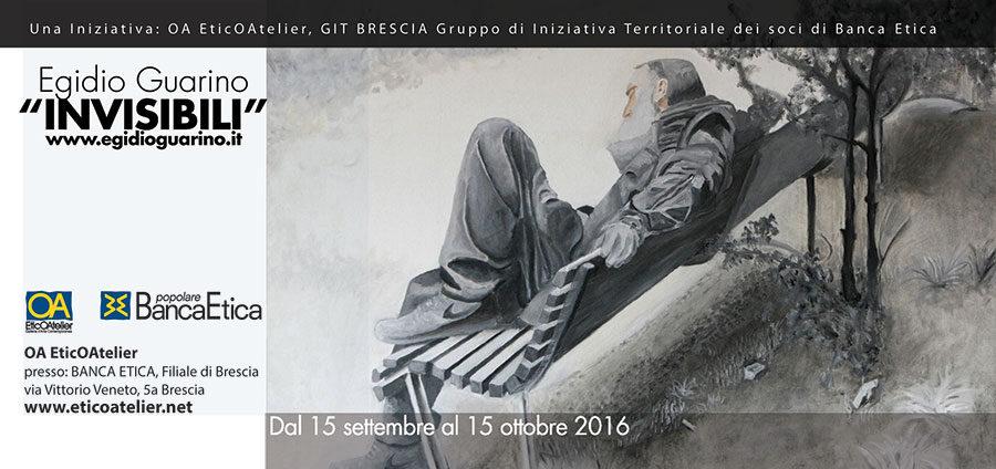 """Egidio Guarino """"Invisibili"""""""