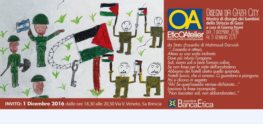 Disegni dei bambini di Gaza