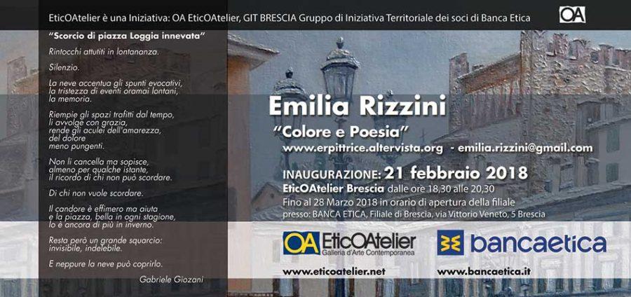 """Emilia Rizzini """"Colore e poesie"""""""